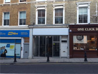 Prominent A2 Shop to Let, 1,016 sq ft 94.4 sq m, 190 Campden Hill Road, Notting Hill Gate, London, W8